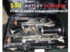 Clarinet Artley 17S With Clarion Pyne Clear Mouthpiece (Kaimuki)