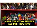 Action Figures Old Toys and Collectibles from 80's and before WANTED (Lower