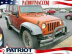 2011 Jeep Wrangler Unlimited Orange, 165K miles