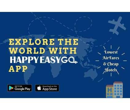Sign up on HappyEasyGo travel app to win 1000 ecash is a Travel Ticket in Delhi DL