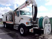 2008 Sterling L8500 VacCon VACUUM/JETTER COMBO
