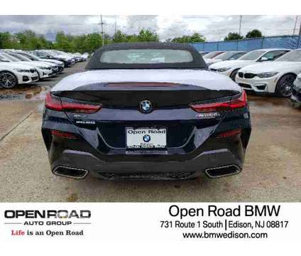 New 2019 BMW 8 Series Convertible is a Black 2019 BMW 8-Series Convertible in Edison NJ