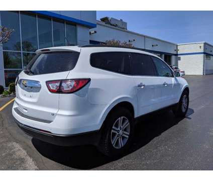 2017 Chevrolet Traverse LT is a White 2017 Chevrolet Traverse LT Car for Sale in Butternut WI