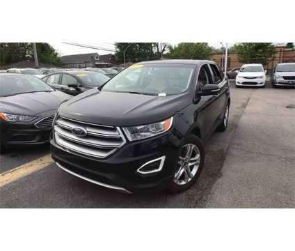 2017 Ford Edge Titanium is a Black 2017 Ford Edge Titanium Car for Sale in Chicago IL