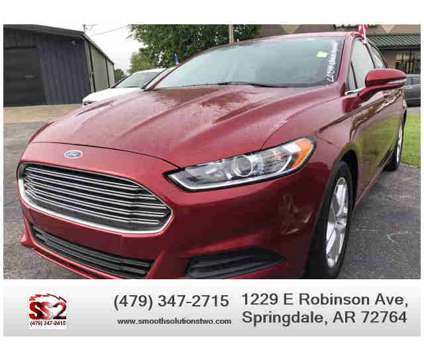 Used 2014 Ford Fusion for sale is a 2014 Ford Fusion Car for Sale in Springdale AR