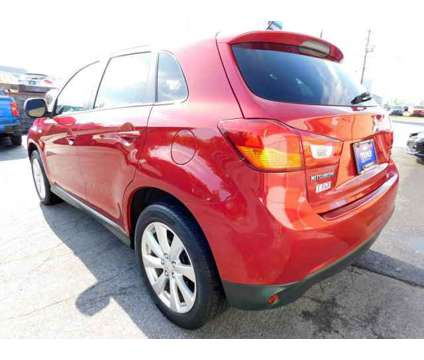 2015 Mitsubishi Outlander Sport 2.4 ES is a Red 2015 Mitsubishi Outlander Sport 2.4 ES Car for Sale in Harrisburg PA