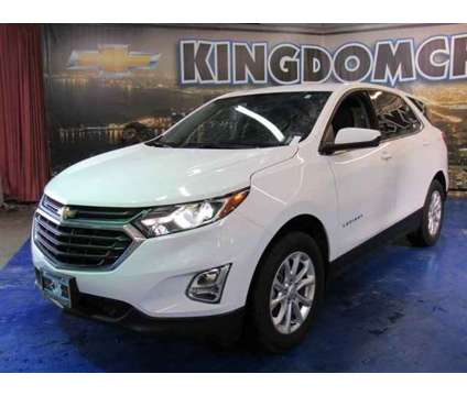 2018 Chevrolet Equinox LT is a White 2018 Chevrolet Equinox LT SUV in Chicago IL