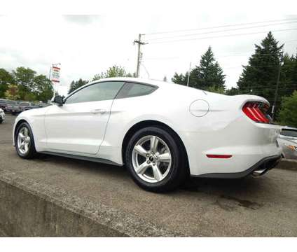 Used 2019 Ford Mustang Fastback is a White 2019 Ford Mustang Car for Sale in Vancouver WA