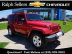 2011 Jeep Wrangler Unlimited Red, 137K miles