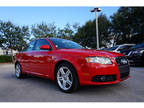 2008 Audi A4 Red, 66K miles