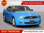 2013 Blue Ford Mustang