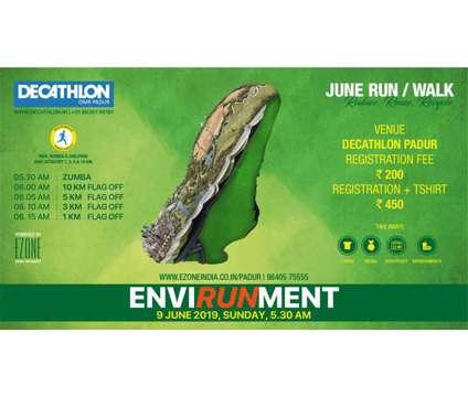Decathlon Run Series - Run For Environment is a ezoneINDIA Sports Ticket on Jun 9 in Chennai TN
