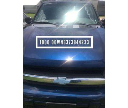 Used 2002 Chevrolet TrailBlazer for sale is a Blue 2002 Chevrolet trail blazer Car for Sale in Saint Martinville LA
