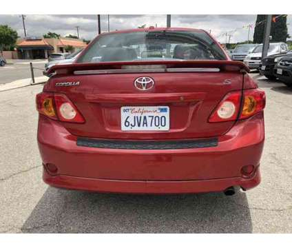 2010 Toyota Corolla for sale is a Red 2010 Toyota Corolla Car for Sale in Whittier CA