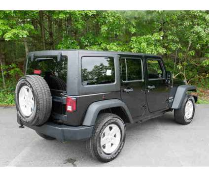 Used 2018 Jeep Wrangler Unlimited JK 4x4 is a Black 2018 Jeep Wrangler Unlimited Car for Sale in Pembroke MA
