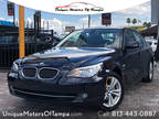 2010 BLUE BMW 5 Series