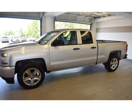 Used 2016 Chevrolet Silverado 1500 4WD Double Cab 143.5 is a Silver 2016 Chevrolet Silverado 1500 Car for Sale in North Attleboro MA