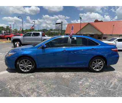 Used 2017 Toyota Camry for sale is a Blue 2017 Toyota Camry Car for Sale in Orlando FL
