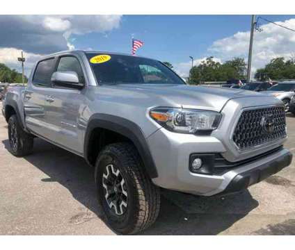 Used 2019 Toyota Tacoma Double Cab for sale is a Silver 2019 Toyota Tacoma Double Cab Car for Sale in Orlando FL