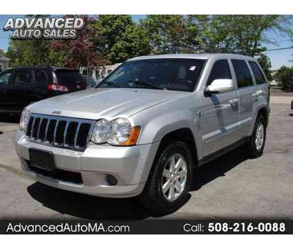 Used 2008 Jeep Grand Cherokee for sale is a Silver 2008 Jeep grand cherokee Car for Sale in North Attleboro MA
