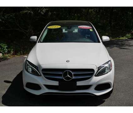 Used 2015 Mercedes-Benz C-Class 4dr Sdn 4MATIC is a White 2015 Mercedes-Benz C Class Car for Sale in Pembroke MA