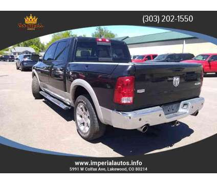 Used 2010 Dodge Ram 1500 Crew Cab for sale is a Black 2010 Dodge Ram 1500 Car for Sale in Lakewood CO