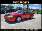 1996 Ford Mustang GT Convertible CONVERTIBLE 2-DR