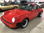 1987 GUARDS RED Porsche 911 TURBO