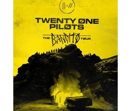 Twenty One Pilots Tix June 5th is a Concert Ticket on Jun 5 in Lake Como NJ