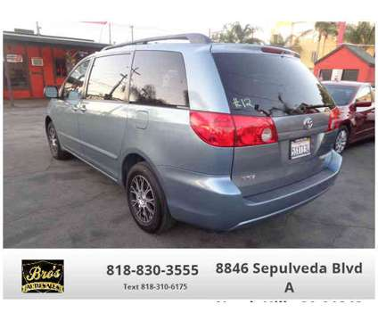 Used 2006 Toyota Sienna for sale is a Blue 2006 Toyota Sienna Car for Sale in North Hills CA