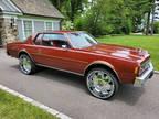 1978 Burgundy Chevrolet Impala