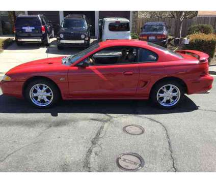 Used 1995 Ford Mustang for sale is a Red 1995 Ford Mustang Car for Sale in Vallejo CA