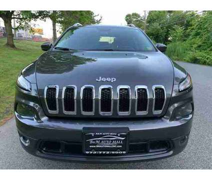 Used 2014 Jeep Cherokee for sale is a Grey 2014 Jeep Cherokee Car for Sale in Clifton NJ
