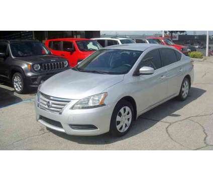 Used 2014 Nissan Sentra 4dr Sdn I4 CVT is a Silver 2014 Nissan Sentra 4dr Sdn Car for Sale in Jefferson City TN
