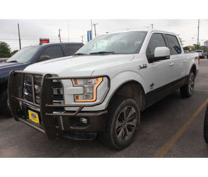 Used 2016 Ford F-150 4WD SuperCrew 145 is a White 2016 Ford F-150 Car for Sale in San Antonio TX