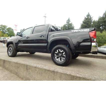 Used 2019 Toyota Tacoma 4WD Double Cab 5' Bed V6 AT (Natl) is a Black 2019 Toyota Tacoma Car for Sale in Vancouver WA