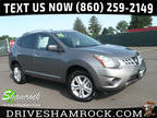 2015 Gray Nissan Rogue Select
