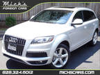 2013 ICE SILVER ON BLACK PRESTIGE MOONROOF NAV BACKUP CAM LOADED Audi Q7