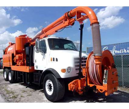 2002 Sterling LT7500 Vac-con VACUUM/JETTER COMBO is a 2002 Thunder Mountain Sterling Other Commercial Truck in Miami FL