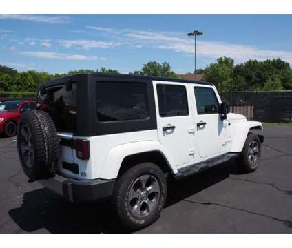 2017 Jeep Wrangler Unlimited Sahara is a White 2017 Jeep Wrangler Unlimited Sahara SUV in Naperville IL