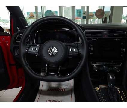 2019 Volkswagen Golf R DCC & Navigation 4Motion is a Red 2019 Volkswagen Golf R Car for Sale in Merrimack NH