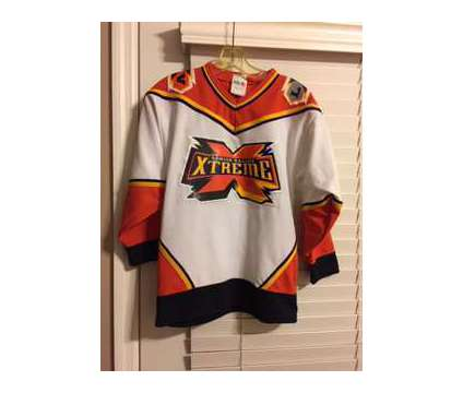 Extreme hockey Shirts is a Black, Orange, White Collectibles for Sale in Wescosville PA