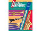 Accent On Achievement - B Bass Clarinet Book 3