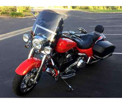 Used 2007 Harley-Davidson FLHRSE for sale is a Red 2007 Harley-Davidson FLH Motorcycle in Corona CA