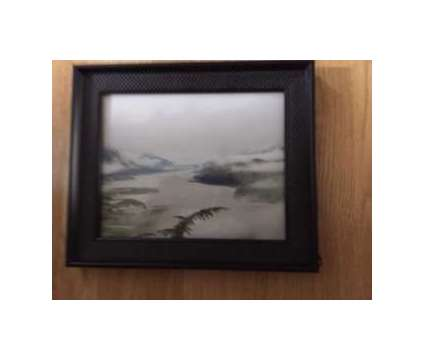 Alaska Scene Framed Picture is a Black Everything Else for Sale in Wescosville PA