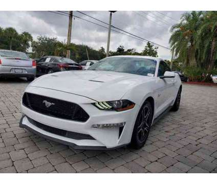 2018 Ford Mustang GT Premium is a White 2018 Ford Mustang GT Car for Sale in Coconut Creek FL