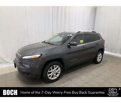Used 2016 Jeep Cherokee 4WD 4dr is a Grey 2016 Jeep Cherokee Car for Sale in Westford MA