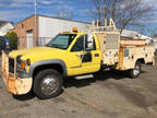 1999 Yellow GMC C-3500 HD UTILITY SERVICE TRUCK