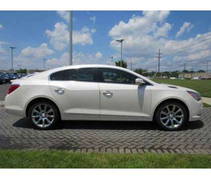 2014 Buick LaCrosse Leather is a White 2014 Buick LaCrosse Leather Car for Sale in Mount Laurel NJ