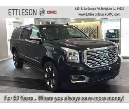 New 2020 GMC Yukon XL 4WD 4dr is a Black 2020 GMC Yukon XL 2500 Trim Car for Sale in Hodgkins IL
